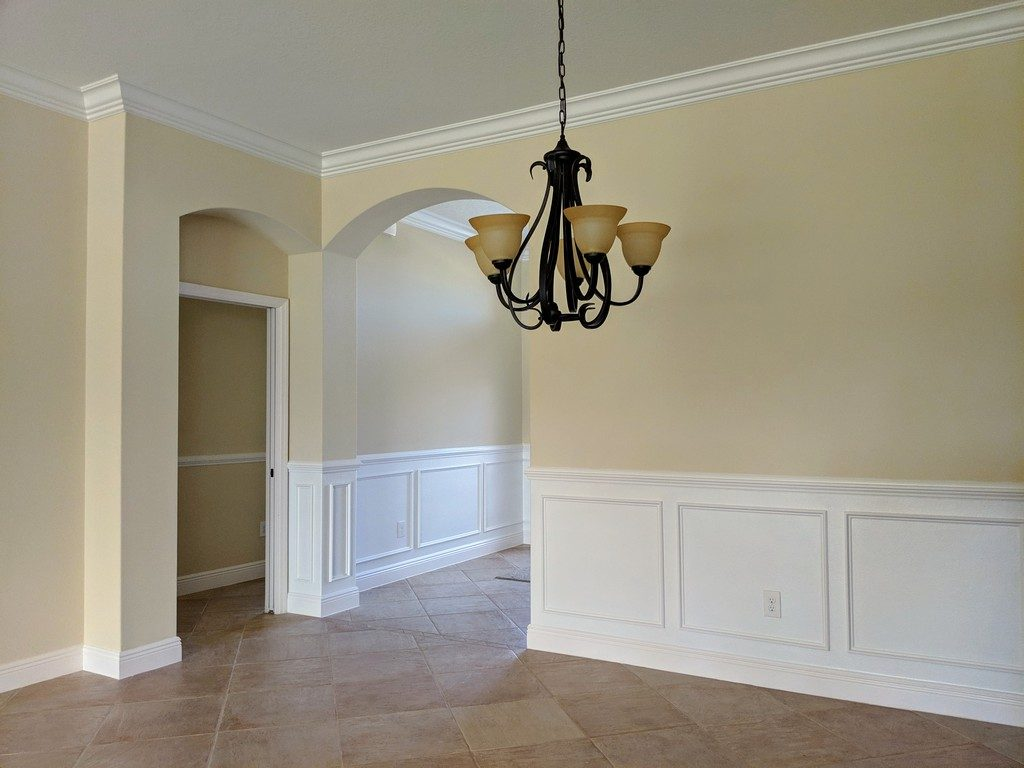 Custom wainscoting JSR Trim