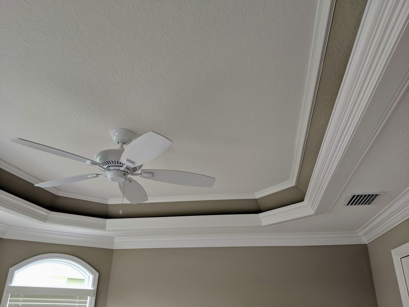 Tray Ceiling Trim Out 48