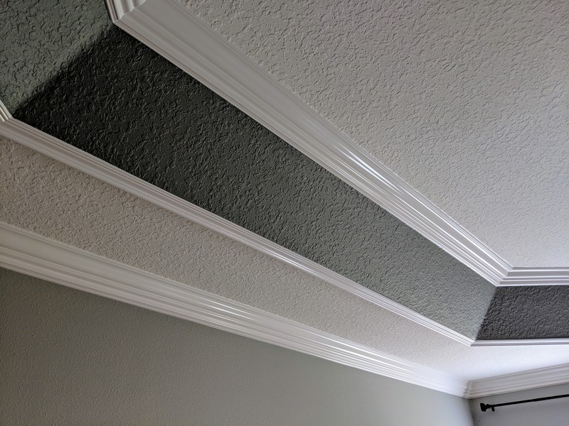 Tray Ceiling Trim Out 49
