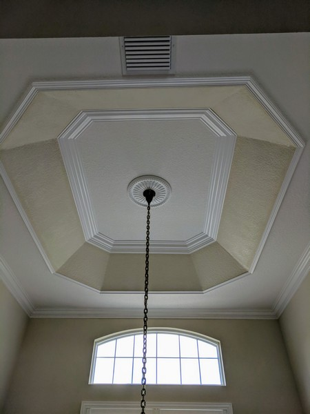 Tray Ceiling Trim Out JSR Trim 20