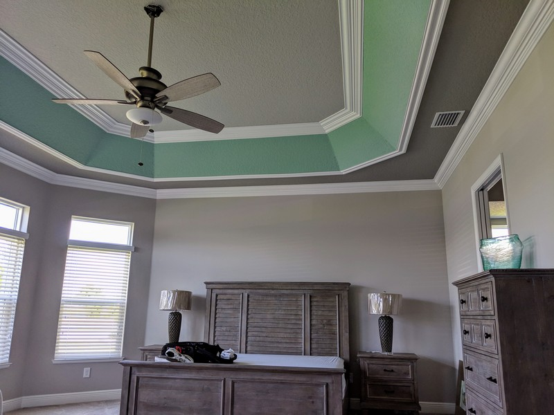 Tray Ceiling Trim Out JSR Trim 21