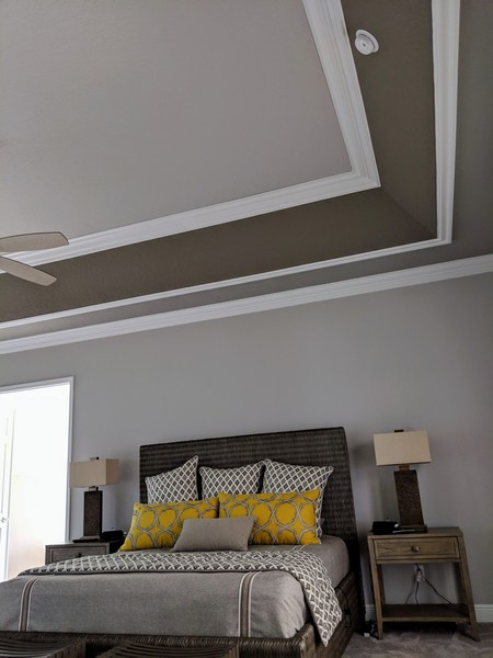 Tray Ceiling Trim Out JSR Trim 24