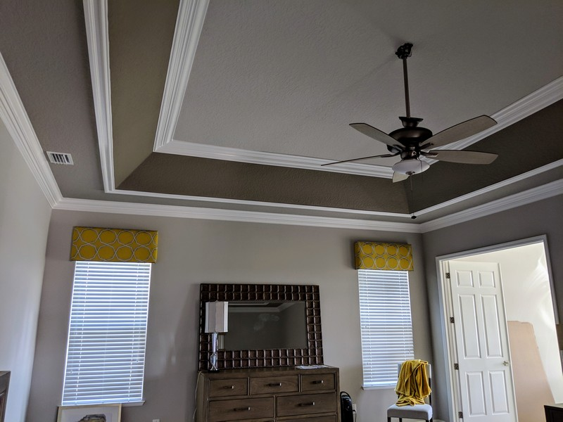 Tray Ceiling Trim Out JSR Trim 25