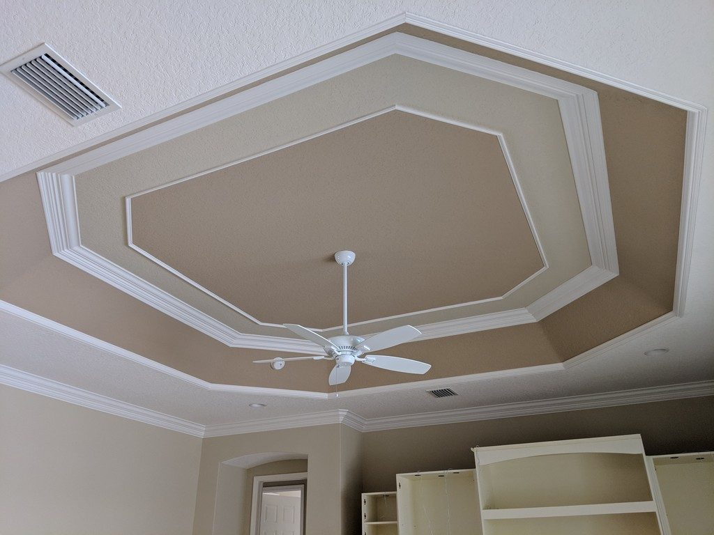 Tray Ceiling Trim Out JSR Trim 26