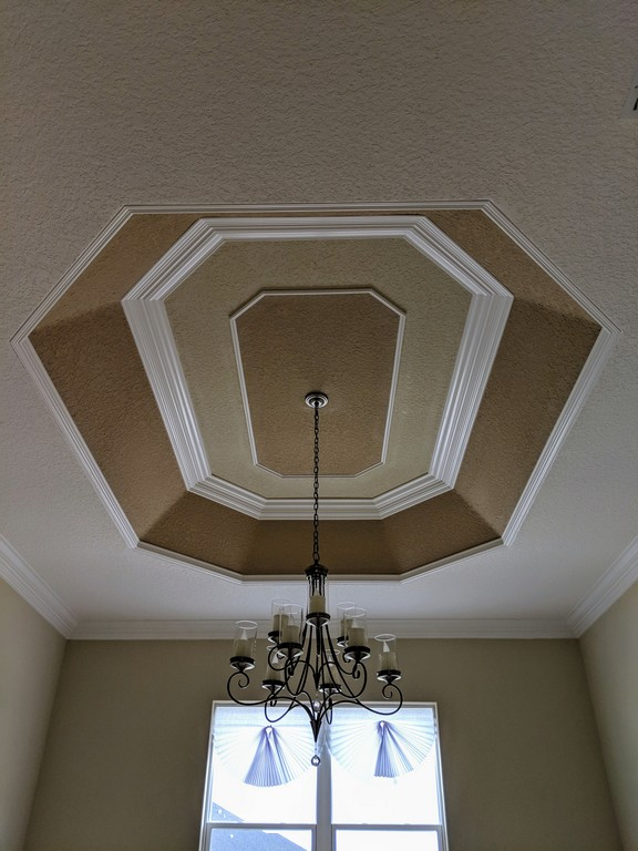 Tray Ceiling Trim Out JSR Trim 28