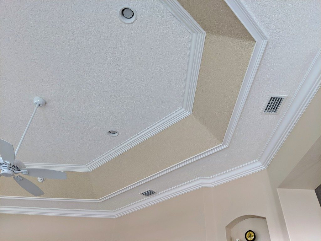 Tray Ceiling Trim Out JSR Trim 29