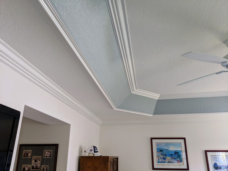 Tray Ceiling Trim Out JSR Trim 32