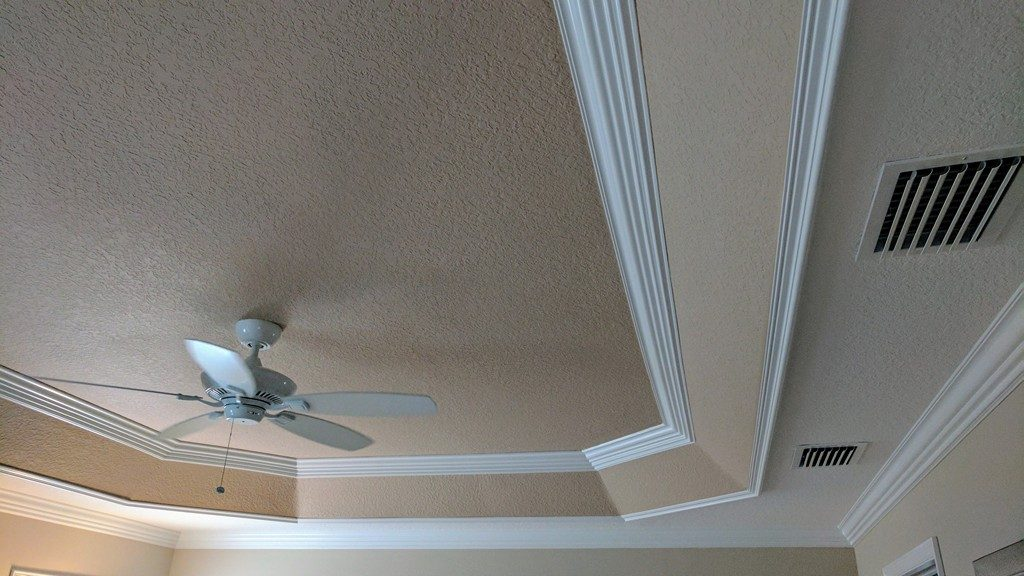 Tray-ceiling-trim-out-feature